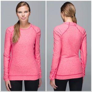 Lululemon Think Fast Long Sleeve pullover